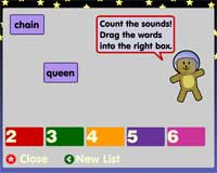 Phoneme Count Screenshot